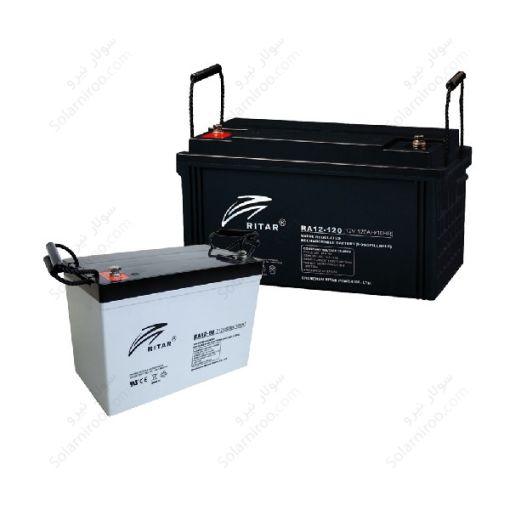 باتری سیلداسید 100 آمپر ساعت ریتار