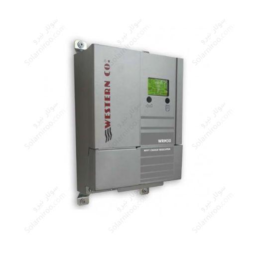 شارژکنترلر 30 آمپرMPPT وسترن – 24 ولت