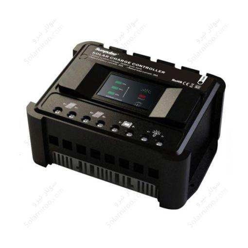 شارژکنترلر 30 آمپر PWM کارسپا – 48 ولت