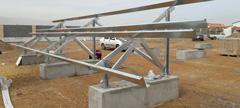 استراکچر پنل خورشیدی و نیروگاه خورشیدی