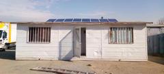 کانکس با برق خورشیدی