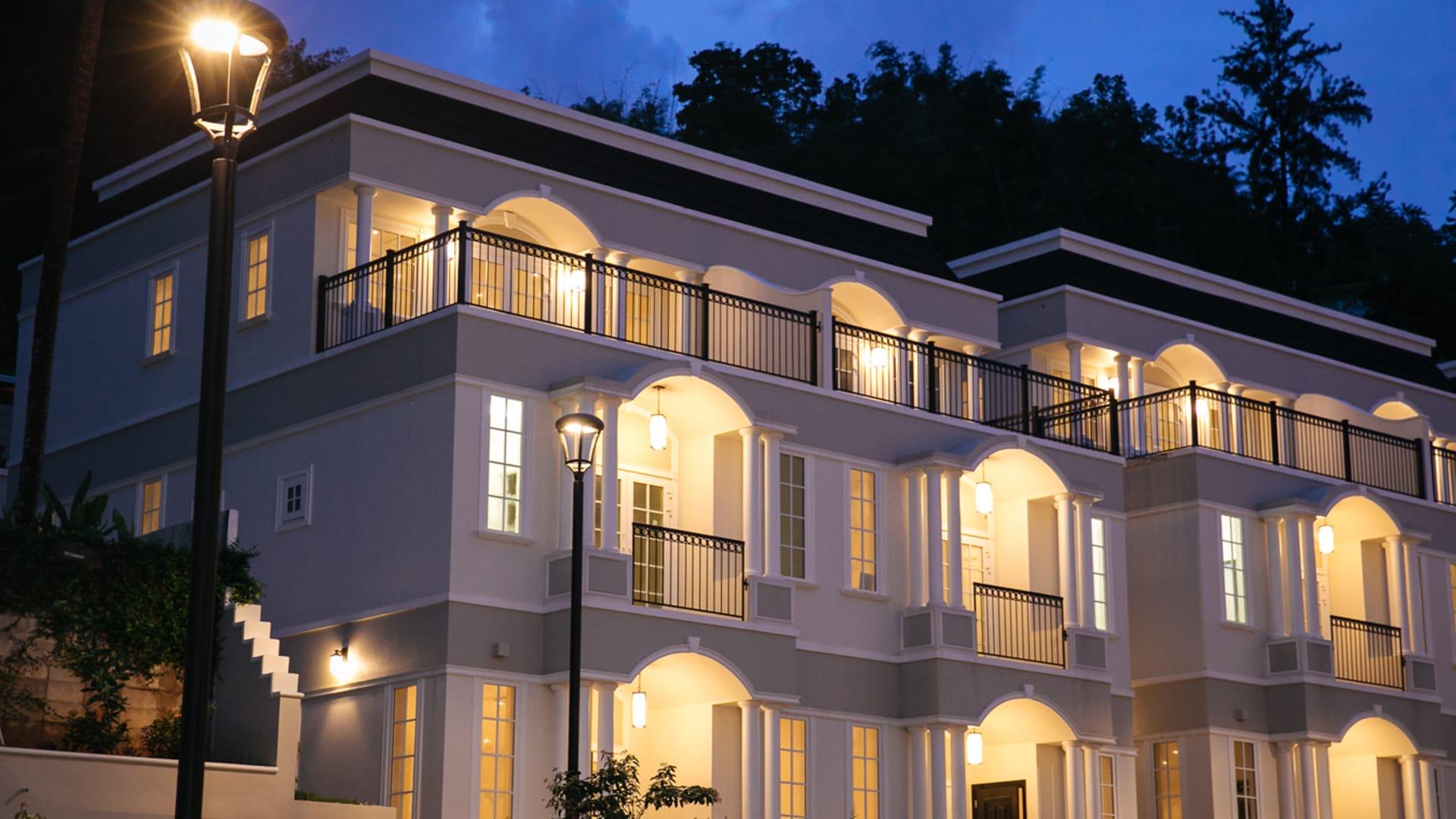 Chateau De Chantilly Unit 2 Townhouse Trinidad Luxury