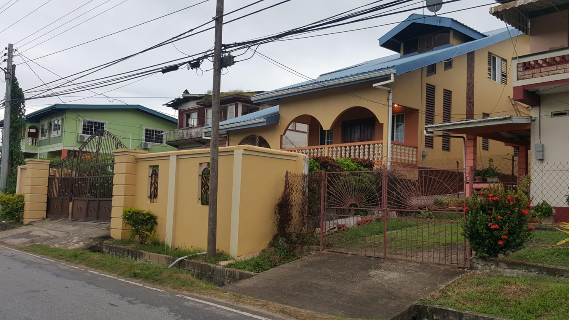 St margarets village house trinidad luxury homes for Trinidad houses