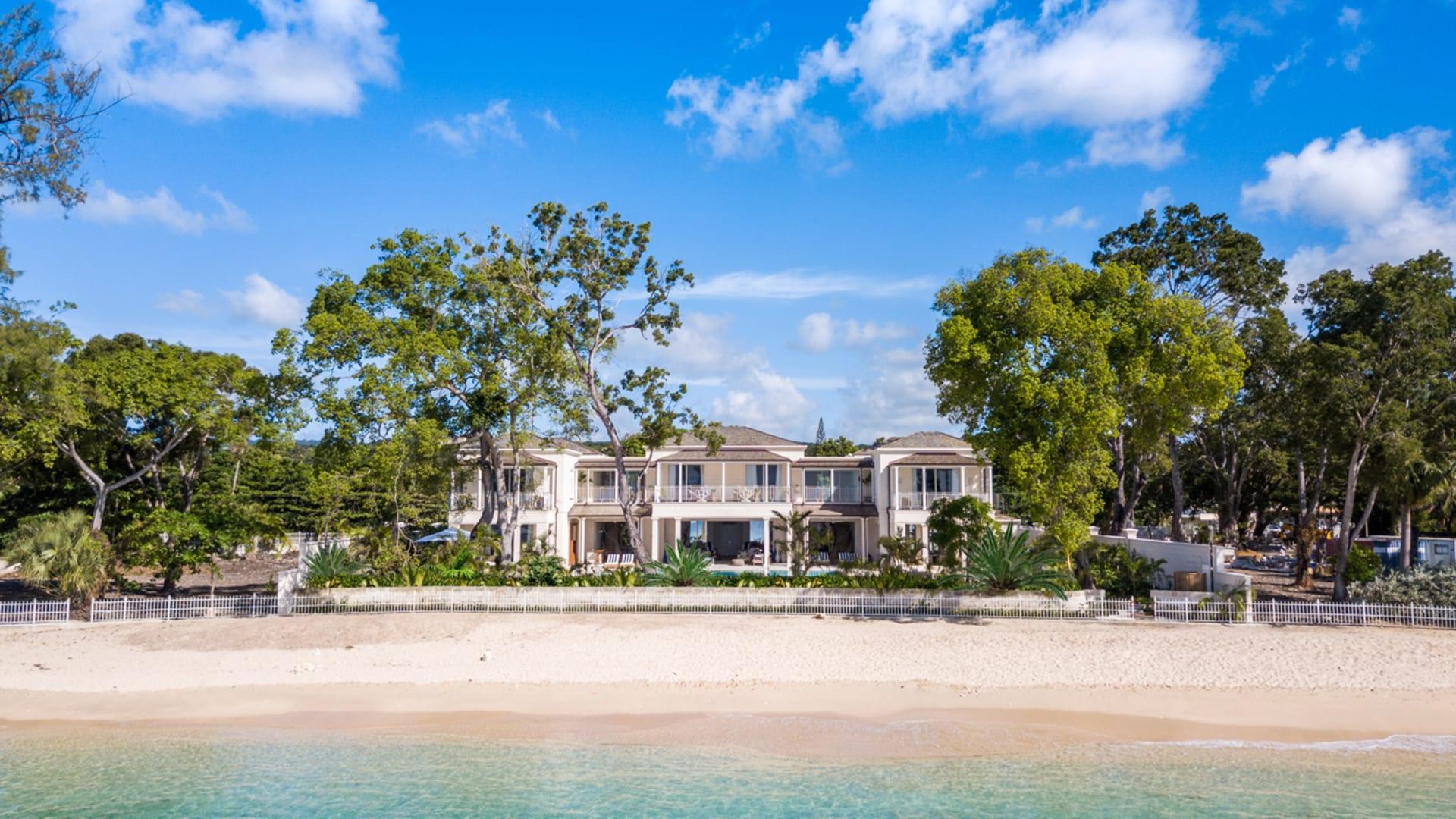 Villa Tamarindo from the sea