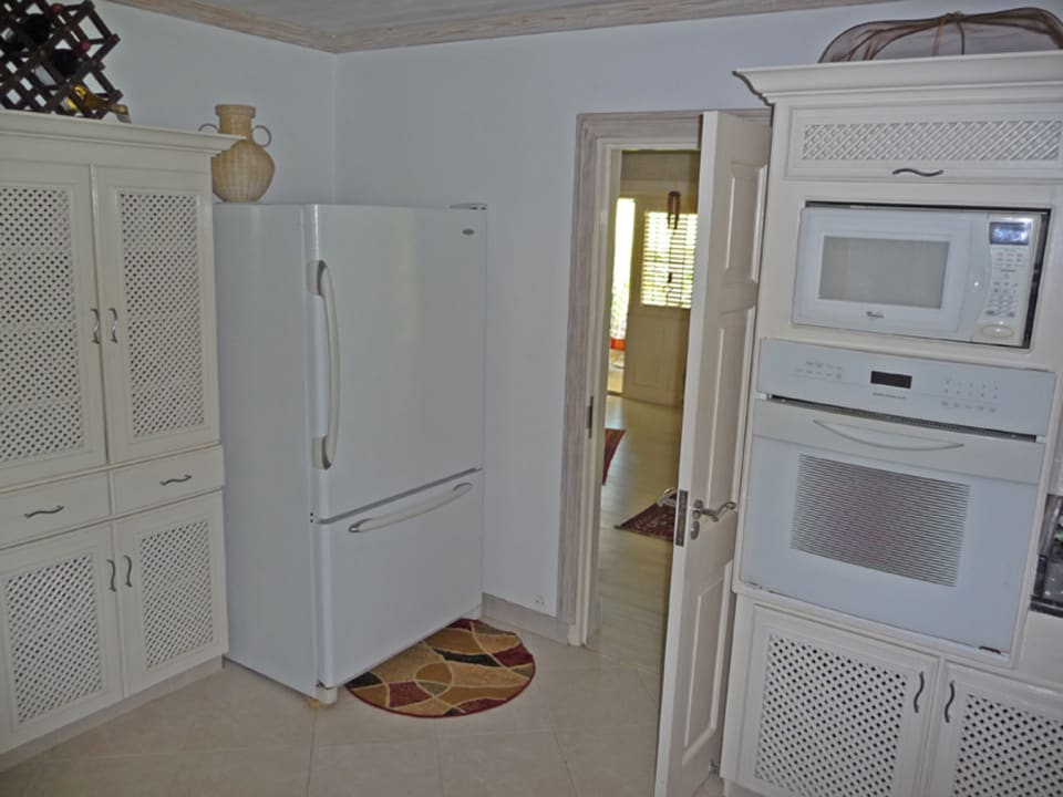 Part of kitchen in main house