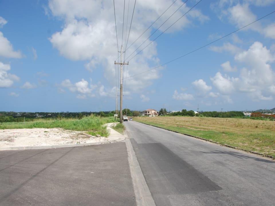 Main Road in Lower Estate