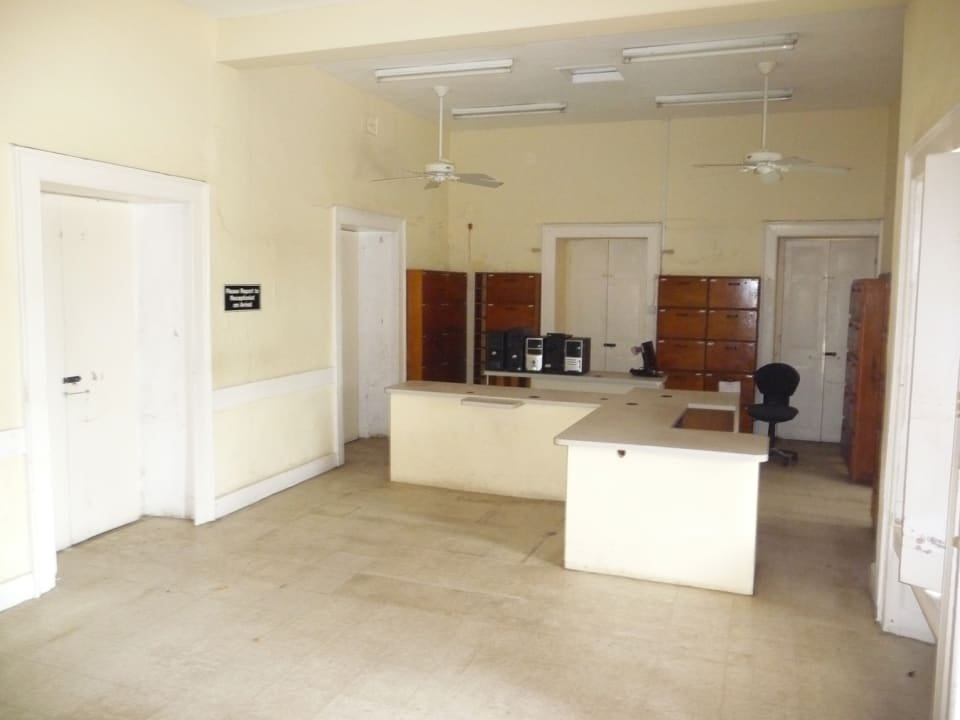 RECEPTION AND WAITING AREA IN MAIN BUILDING