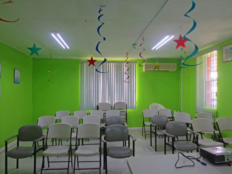Shared training room