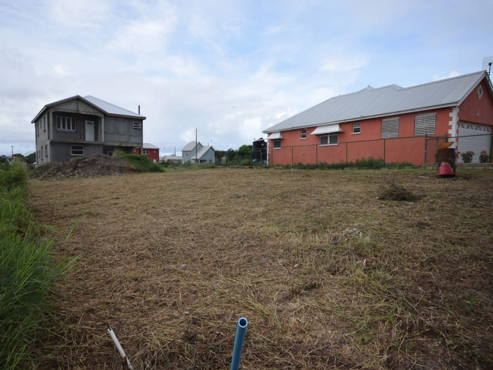 Land with Neighbouring Houses