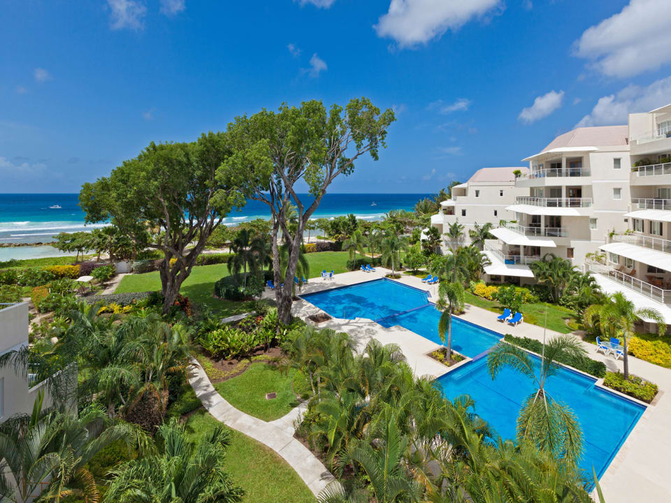View of Palm Beach development