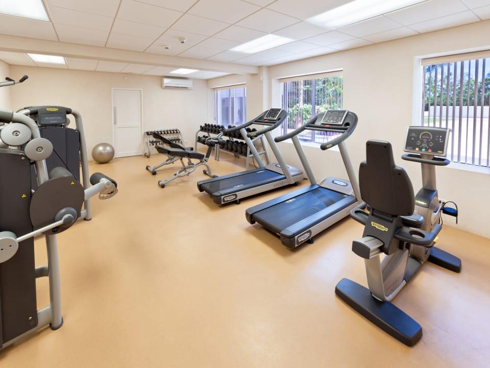 Gym at Palm Beach