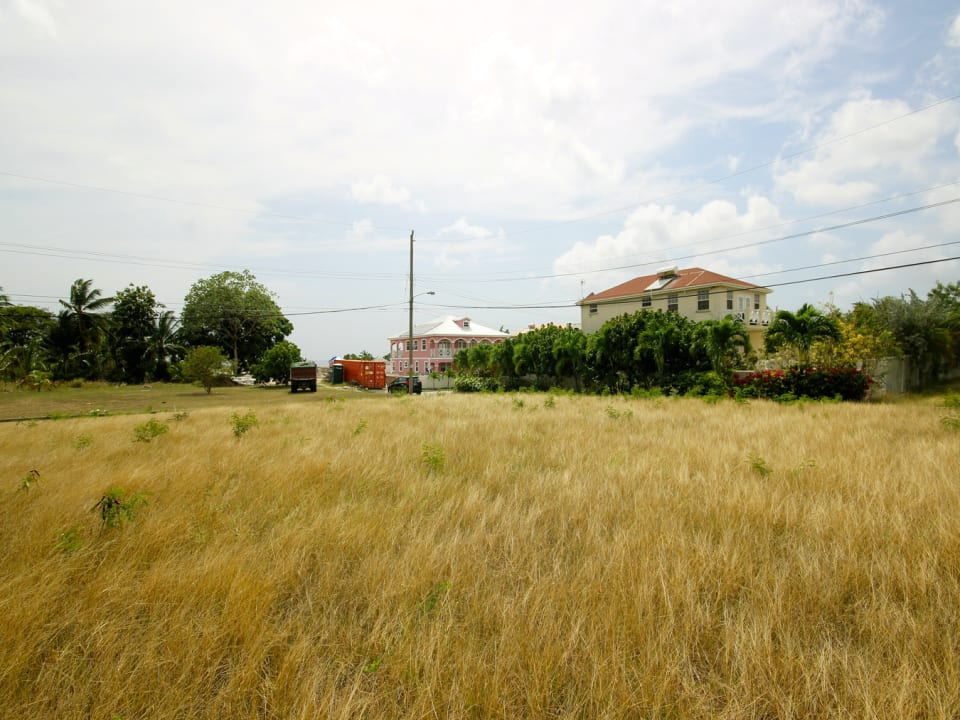 Eastern view of Lot 3