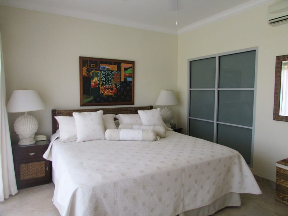 Master suite with pool/golf course view
