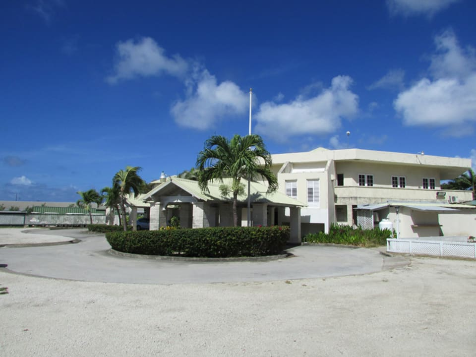 Barbados Golf Club House Entrance