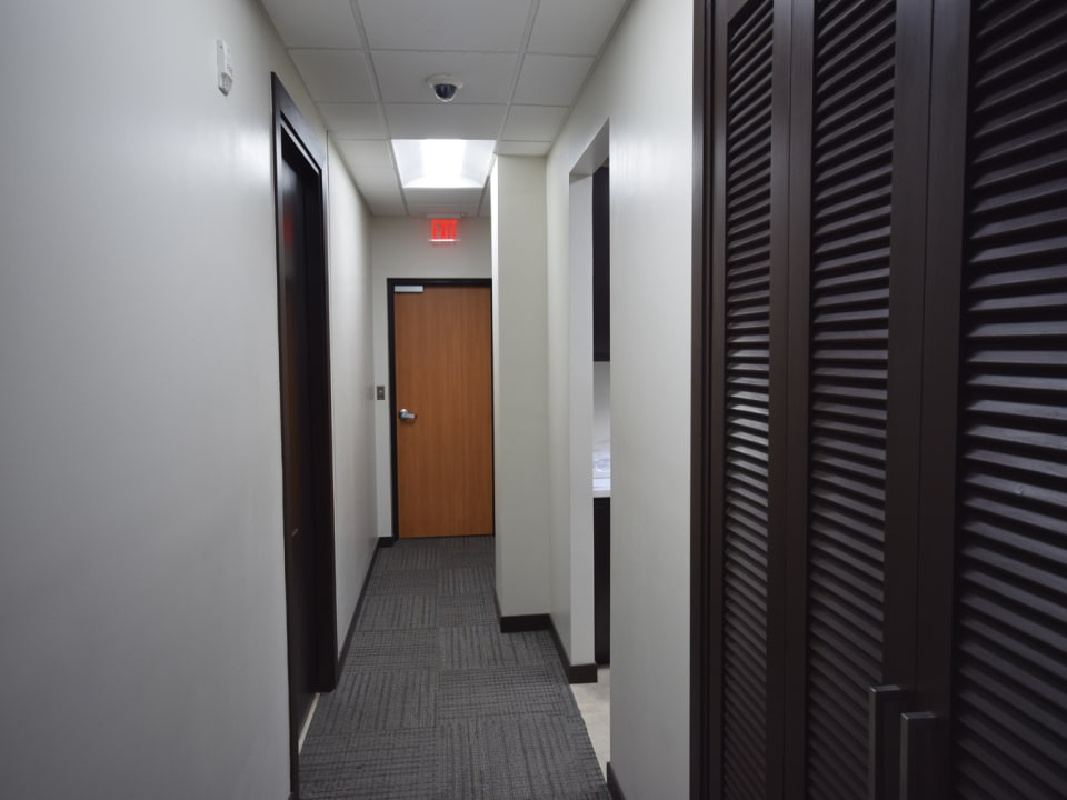 Hallway to the Back Entrance
