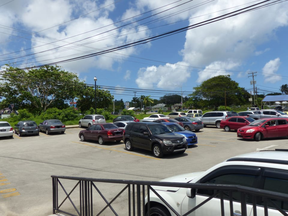 Car park towards the highway
