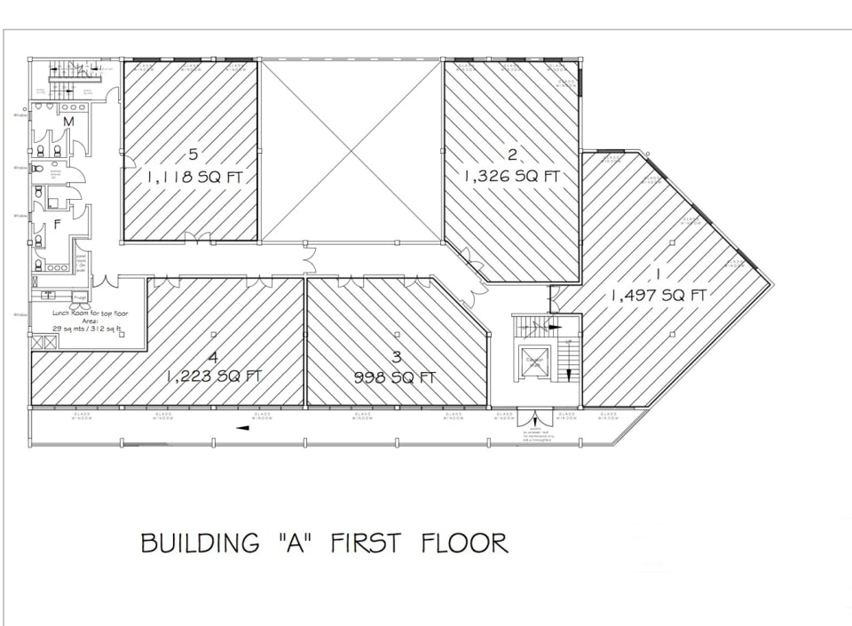 Building A - First Floor Plan