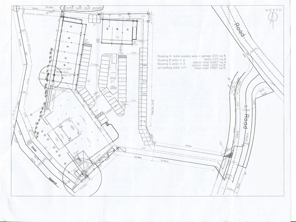 Floor Plans of the Development