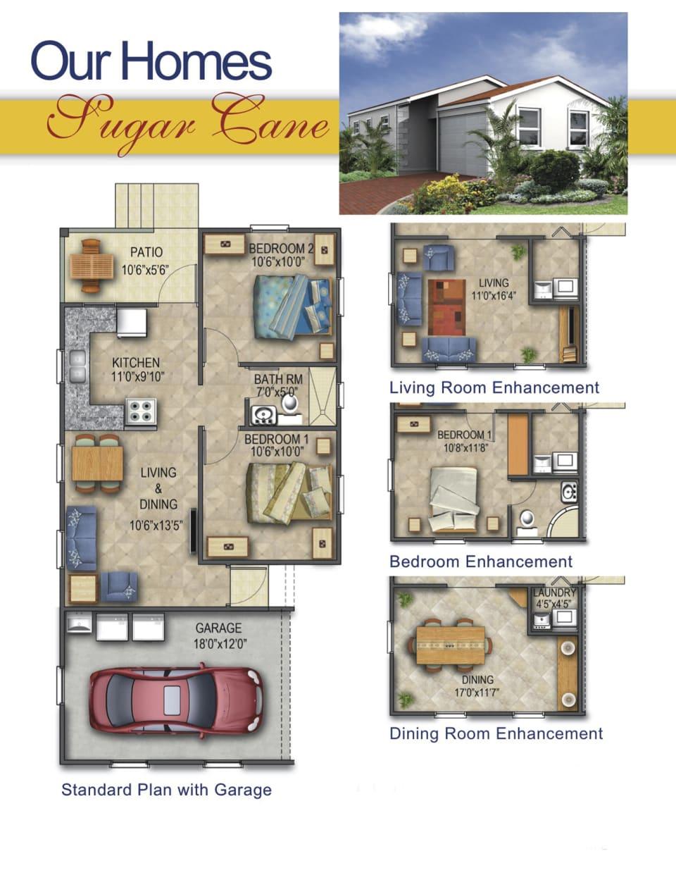 Floor Plan with Enhancement