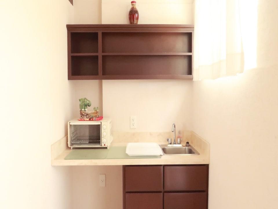 Kitchenette in apartment
