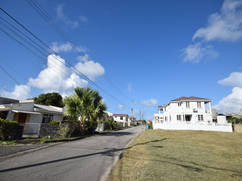 Streetscape and land