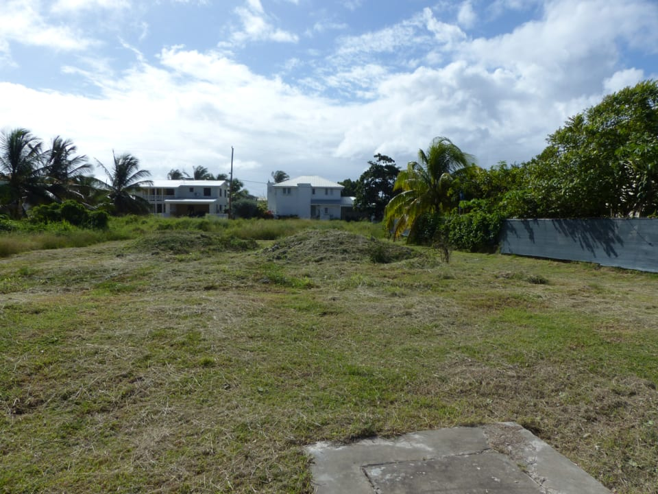 Land looking from the Street