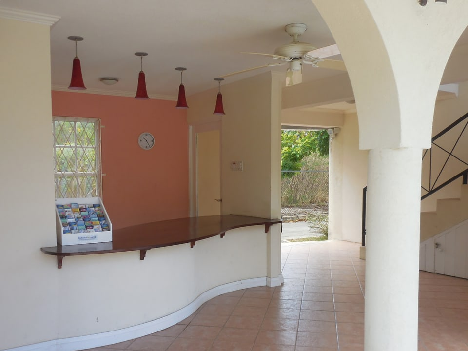 Foyer area and central Bar