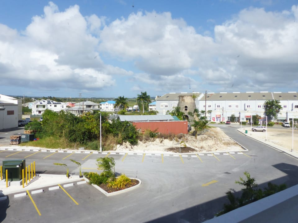 View from the Unit overlooking the Carpark and Canewood development
