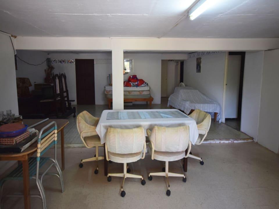 Lower level apartment