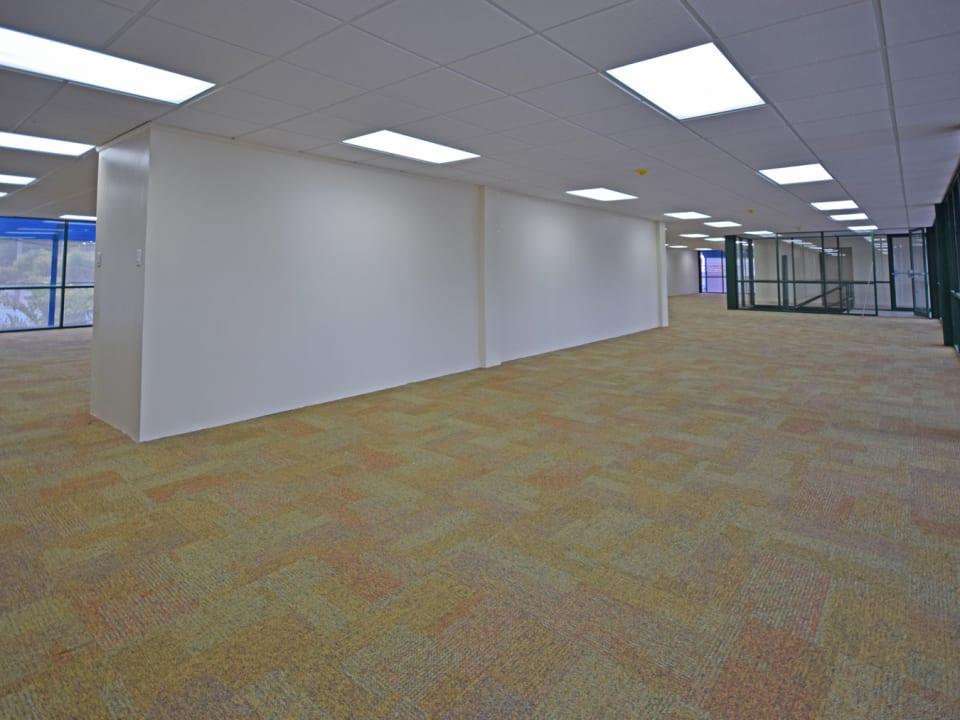 Upstairs eastern office space