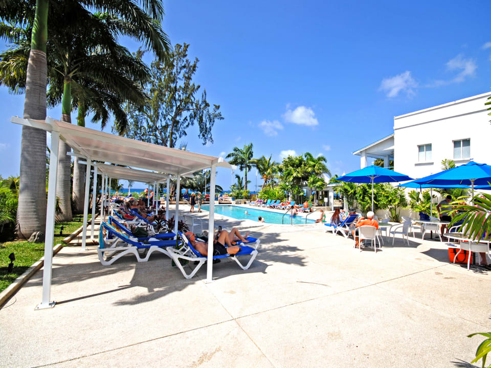 Members only beach club and swimming pool