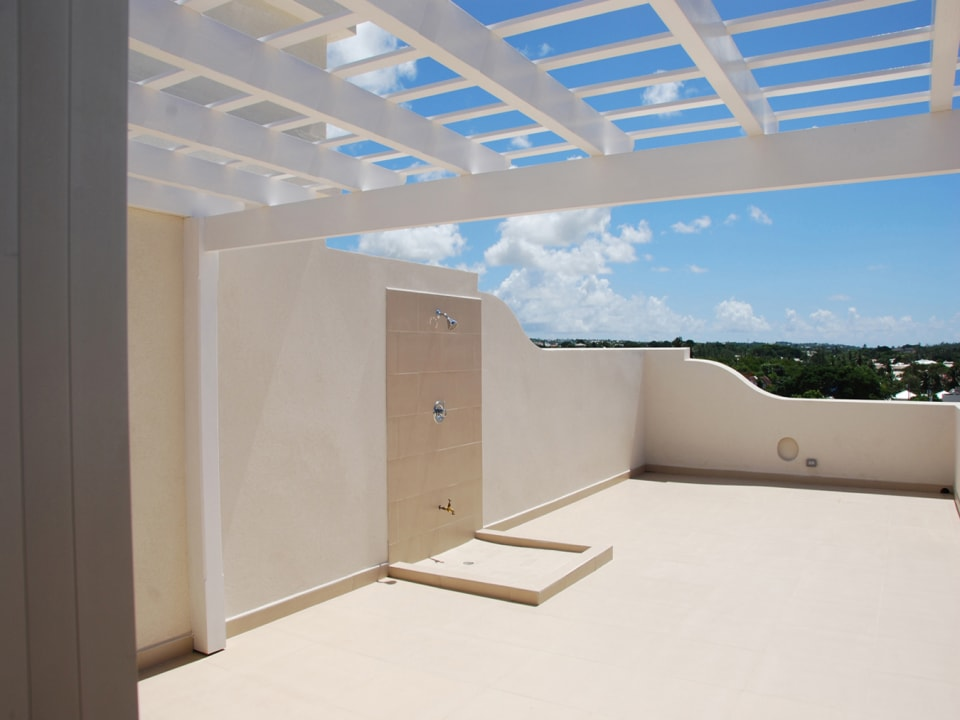 Roof deck with greate views
