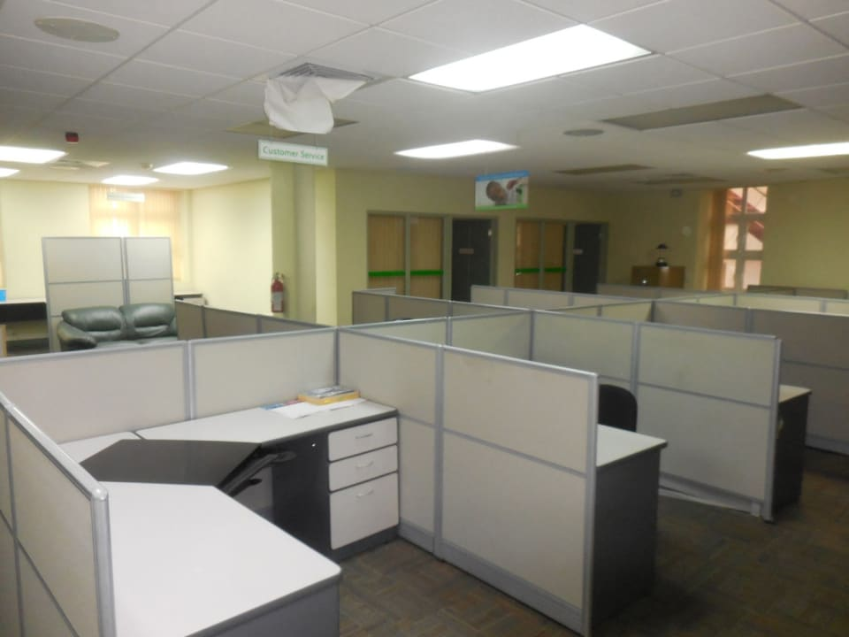 First floor office area