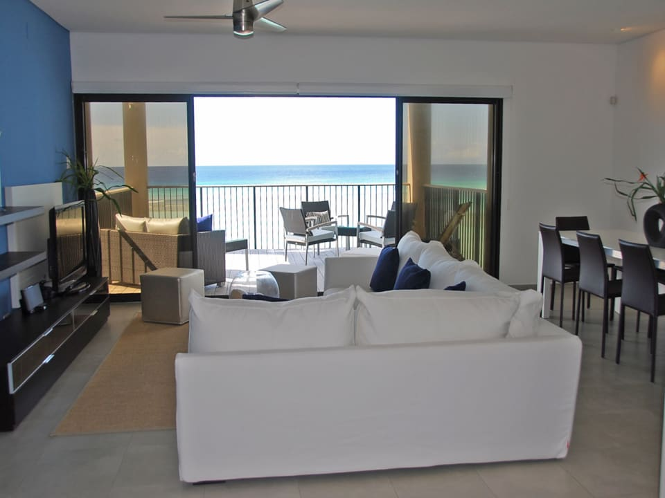 Living area with views