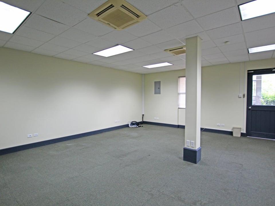 Open plan space