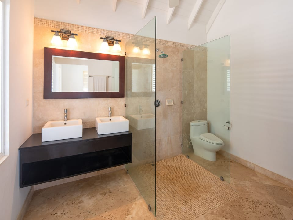 Spacious Bathroom with Double Vanity