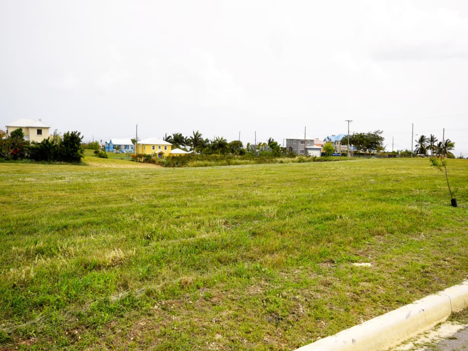 View of land at South View