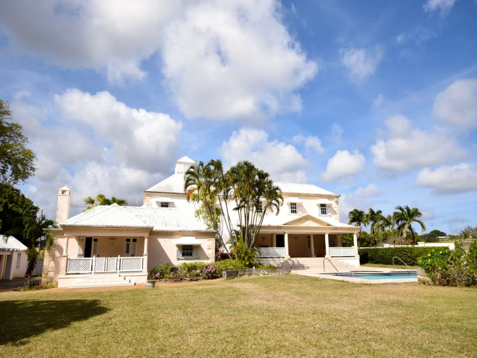 Barbadian Great House