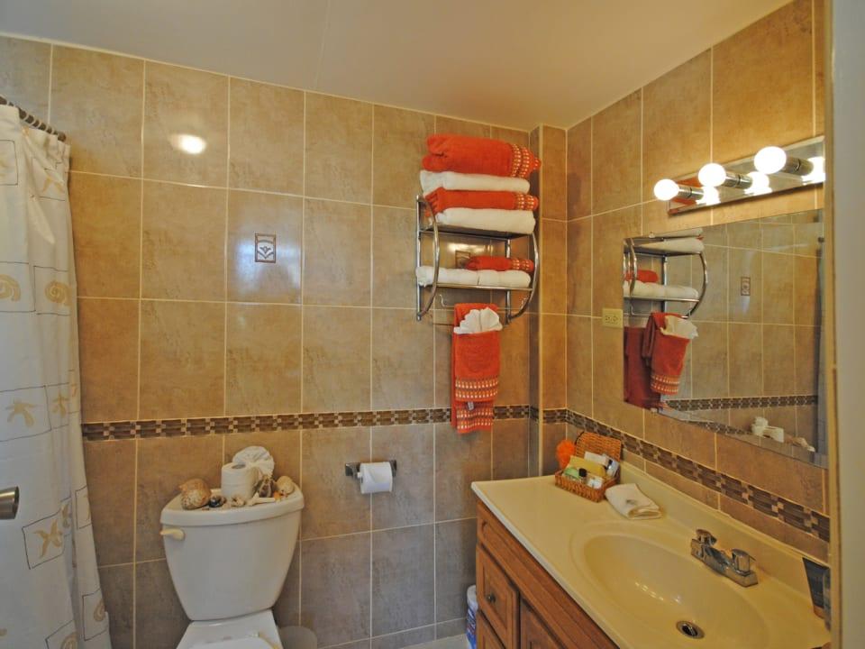 Ensuite bathroom for Bedroom 2 of ground floor apt