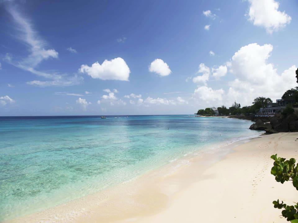 View of stunning beach from Senderlea