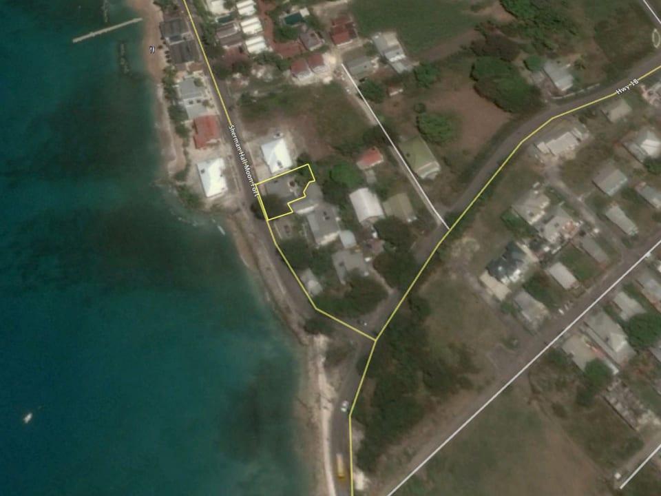 Google Earth overlay of land lot