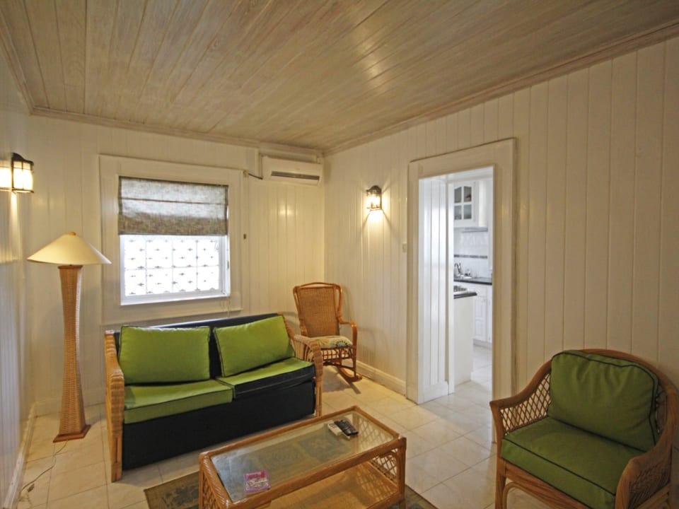 Sitting area in 2 bedroom unit