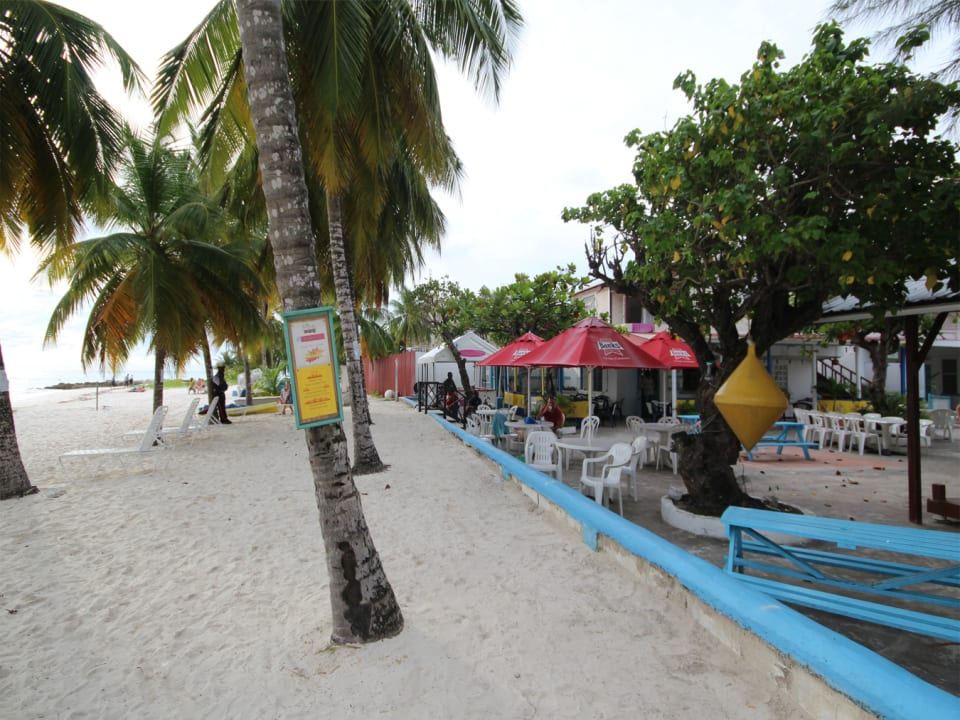 Beach in front of property