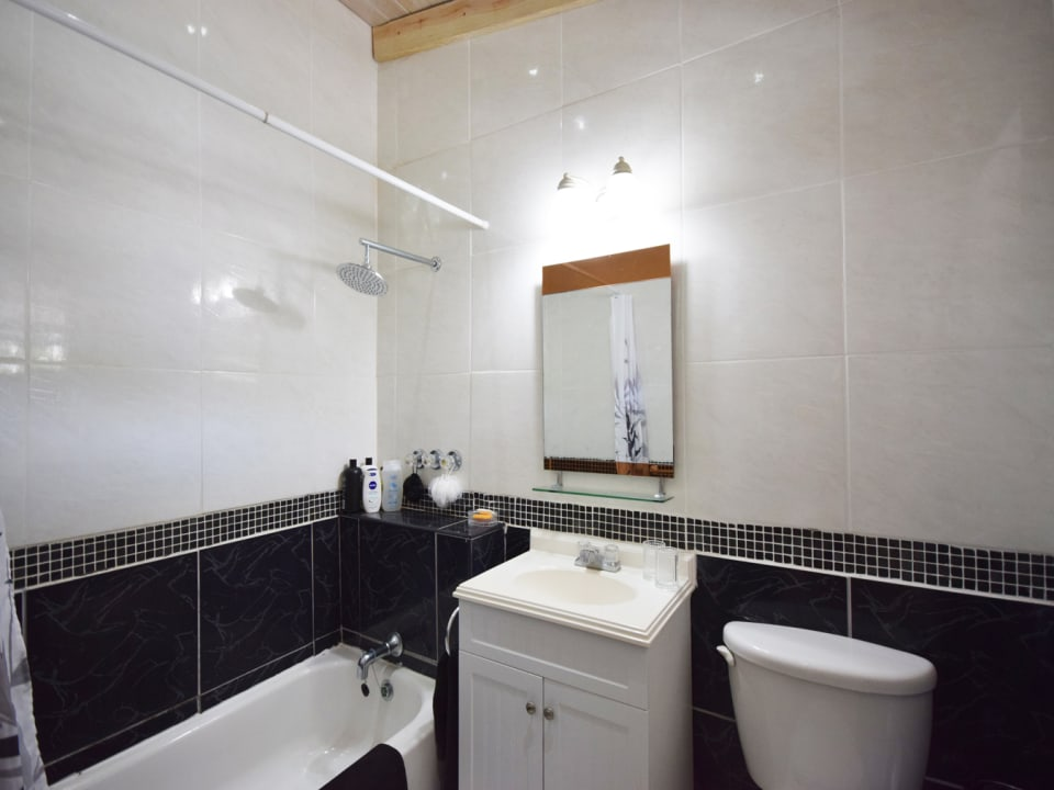 Shared Bathroom Upstairs in Bimshire