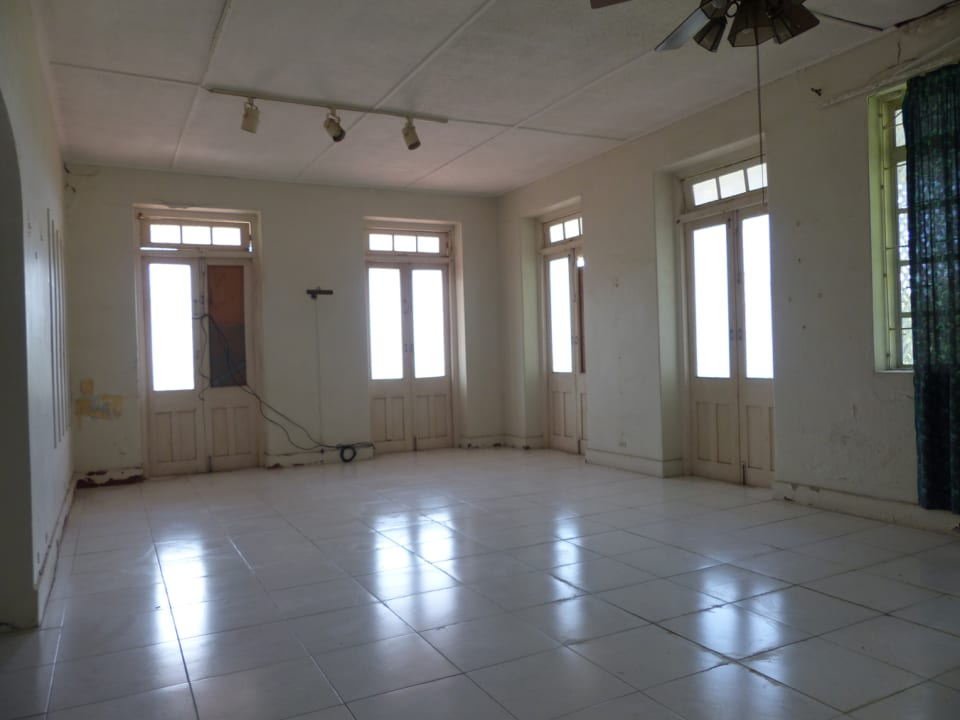Living and dining area in the main house