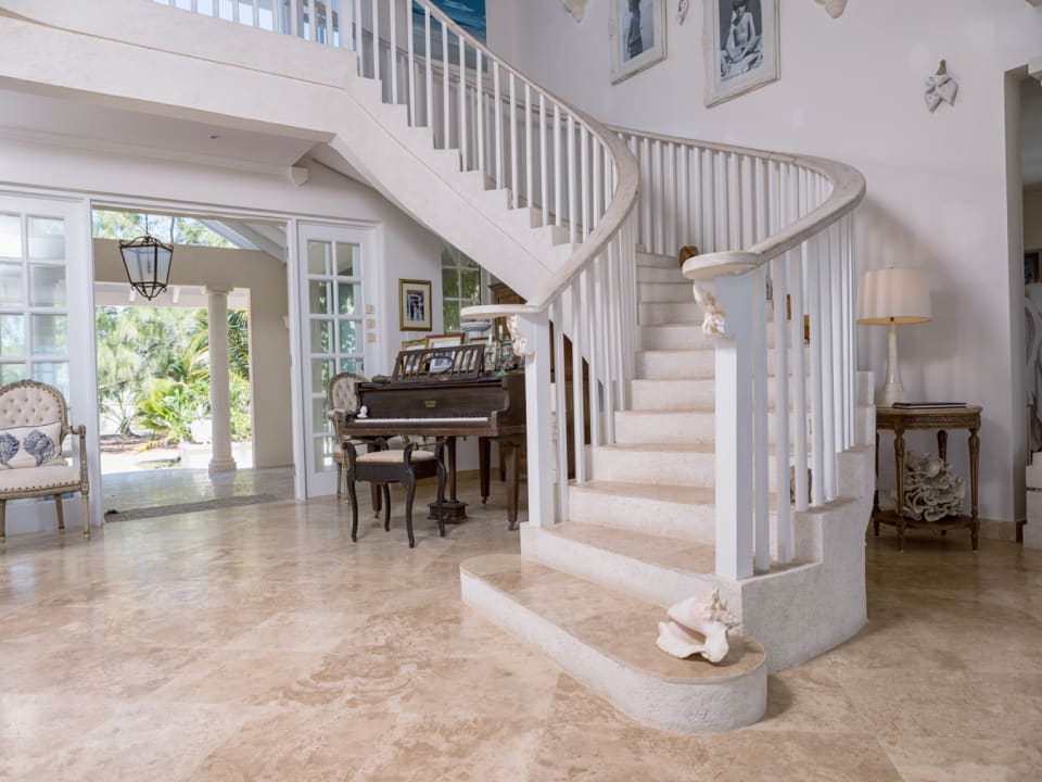 Magnificent Curved Staircase