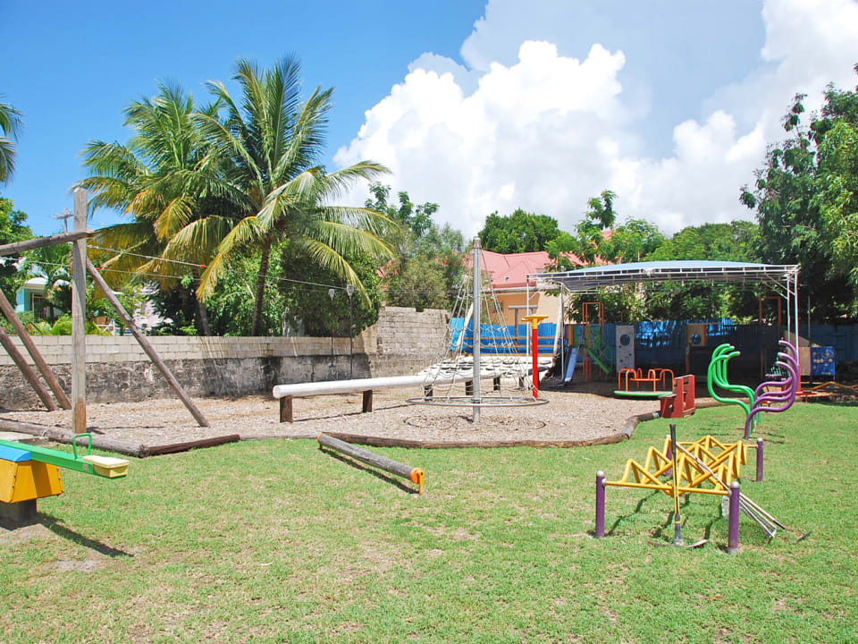 The playground at Art Splash
