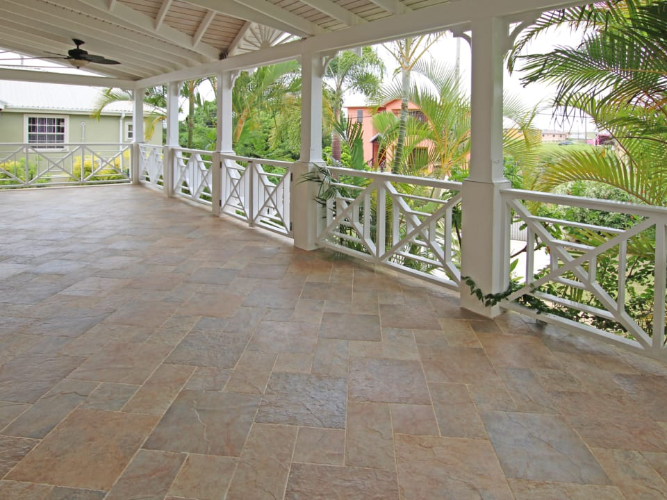 Large front porch