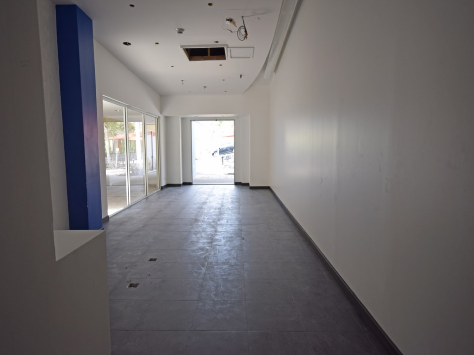 Large open-plan space