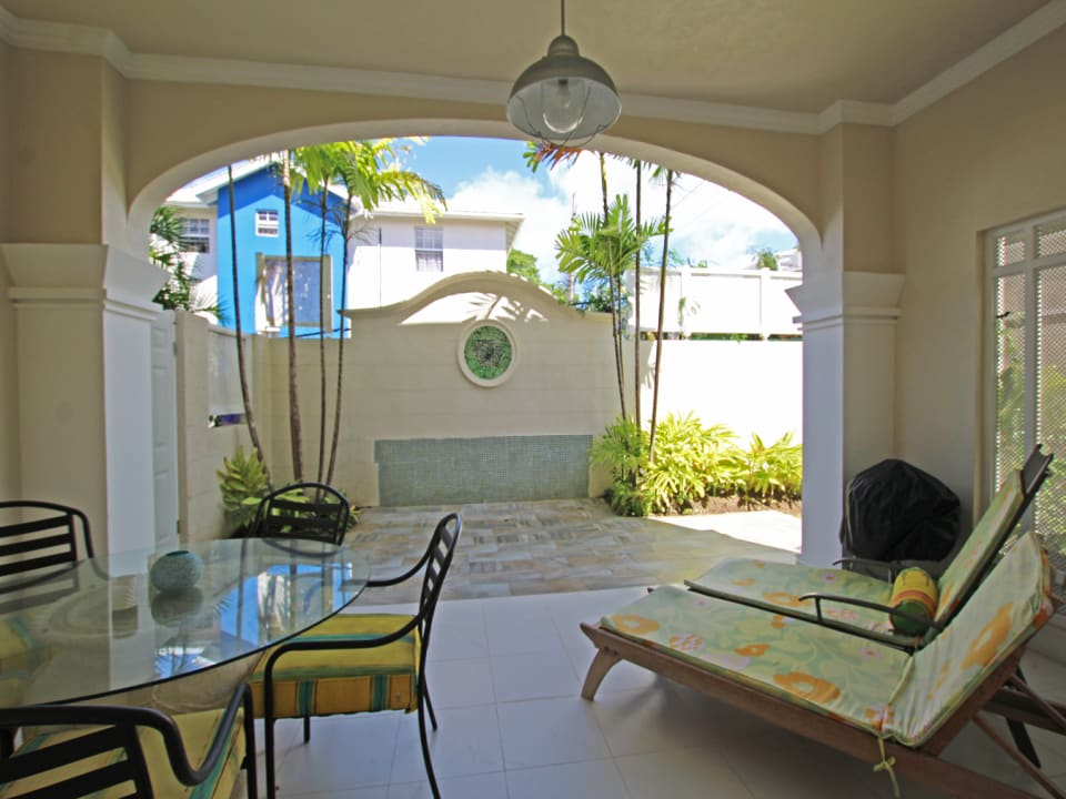 Expansive Patio